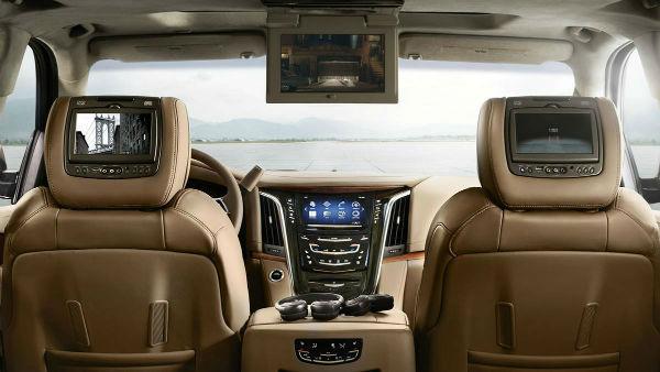 2017 Cadillac Escalade Platinum Interior