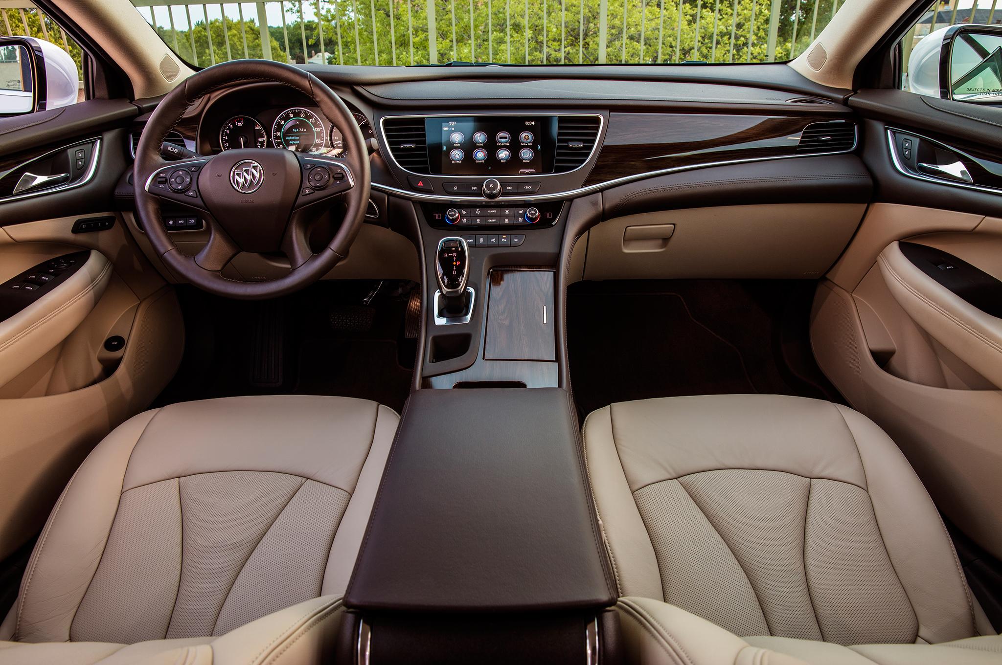 Buick LaCrosse 2017 Interior