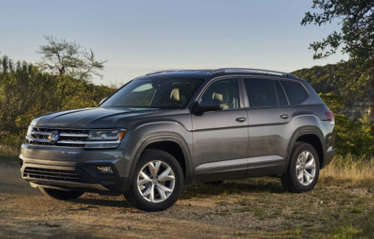 VW Atlas Towing Capacity >> 2018 Volkswagen Atlas Towing Capacity