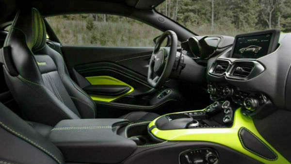 2019 Aston Martin Rapide Interior