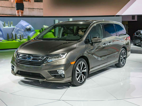 2019 Honda Odyssey Colors