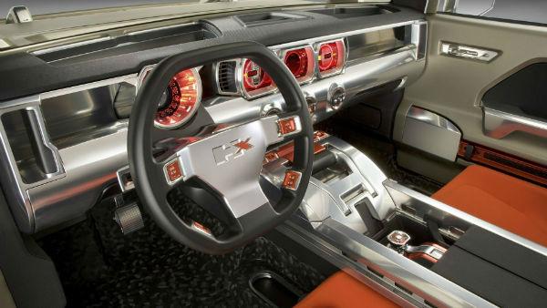 2019 Hummer HX Interior