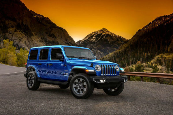 2019 Jeep Wrangler Colors