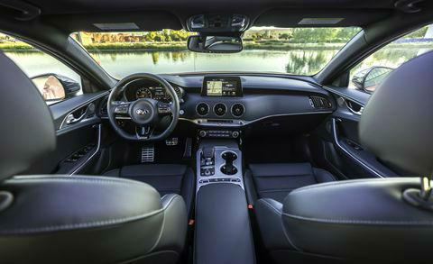 2019 kia Stinger GT2 Interior