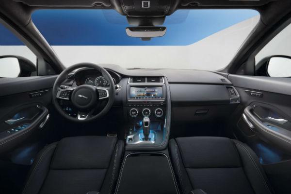 Jaguar F Pace 2019 Interior