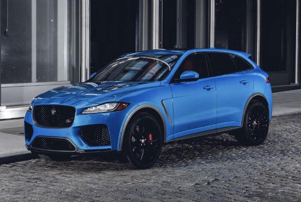 Jaguar F Pace 2019 SRV