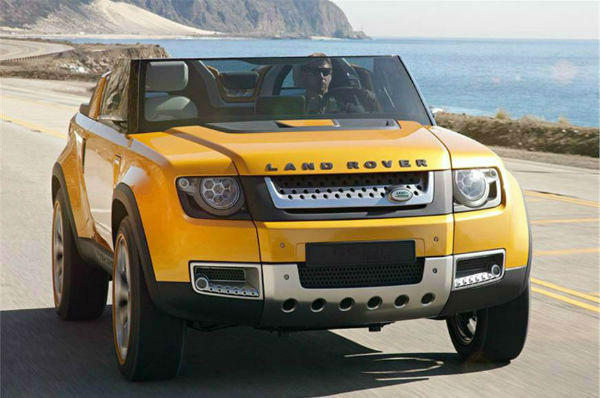Rover Defender USA