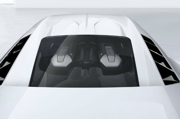 2020 Bugatti Centodieci Engine