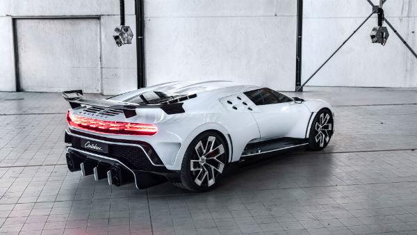 2020 Bugatti Centodieci Model
