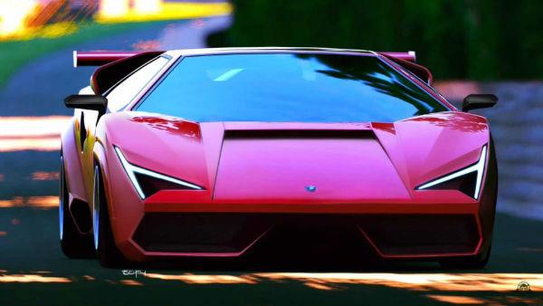 2020 Lamborghini Countach