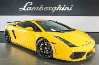 2020 Lamborghini Gallardo