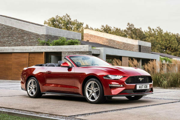 2020 Mustang Convertible
