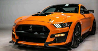 2020 Mustang Shelby GT500 Orange