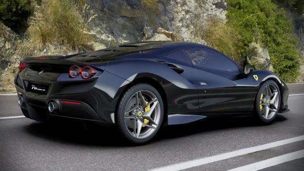 2020 Ferrari F8 Black