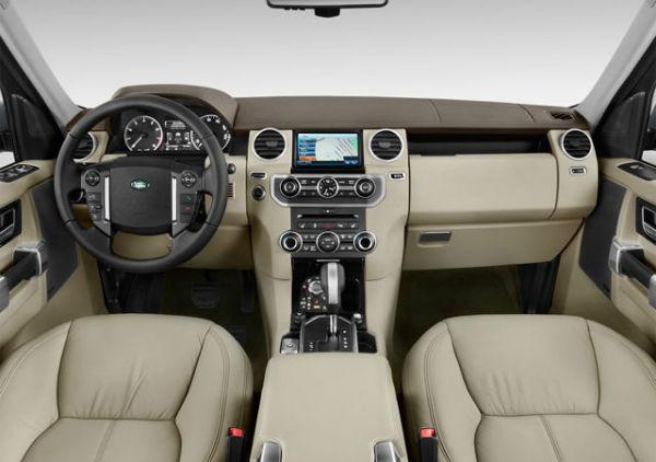 2020 Land Rover LR4 Interior