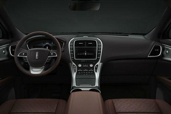 2020 Lincoln Nautilus Black Label Interior
