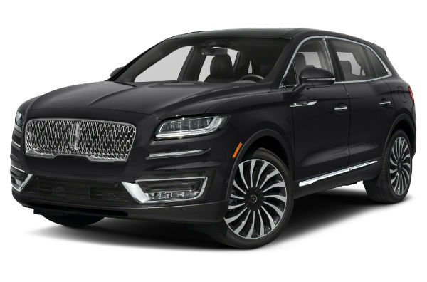 2020 Lincoln Nautilus Black