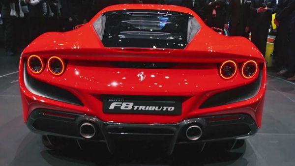 Ferrari F8 2020 Tributo