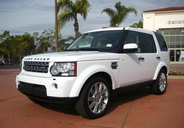 Land Rover LR4 2020 White