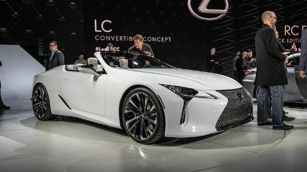 Lexus LC 2020 Convertible
