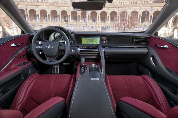 Lexus LC 2020 Interior