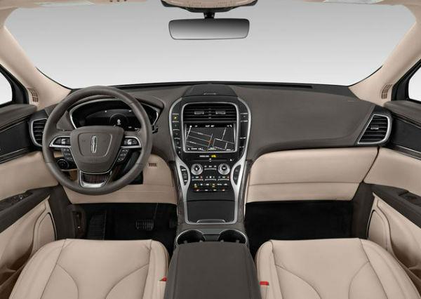 Lincoln Nautilus 2020 Interior