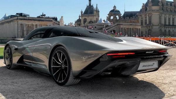 2020 McLaren Speedtail Hypercar
