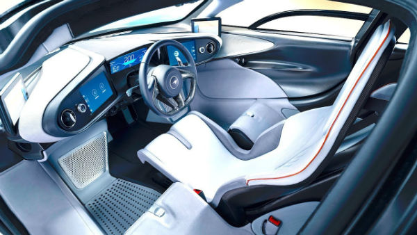 2020 McLaren Speedtail Interior