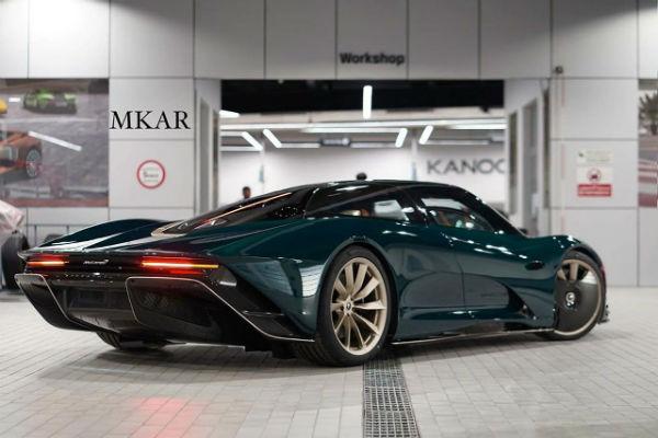 McLaren Speedtail Bahrain