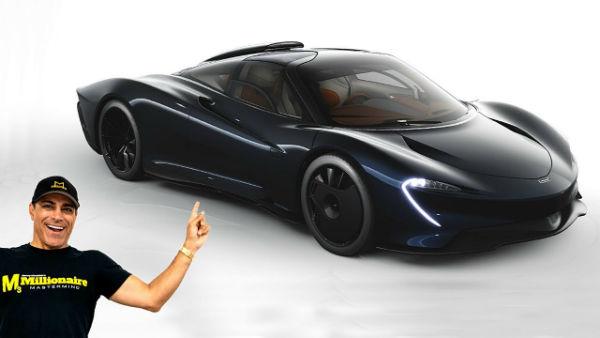 McLaren Speedtail Hermes