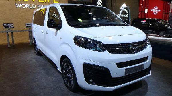 Opel Zafira 2020 Precio