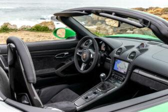 Porsche Boxster 2020 Interior