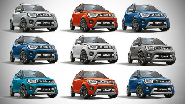 Suzuki Ignis 2020 Colors
