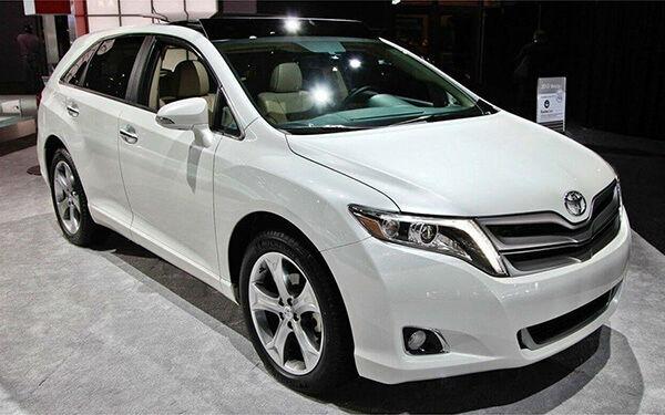 2020 Toyota Venza White