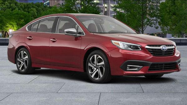 Subaru Legacy 2020 Red