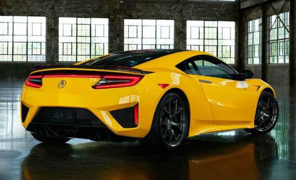2021 Acura NSX Horsepower