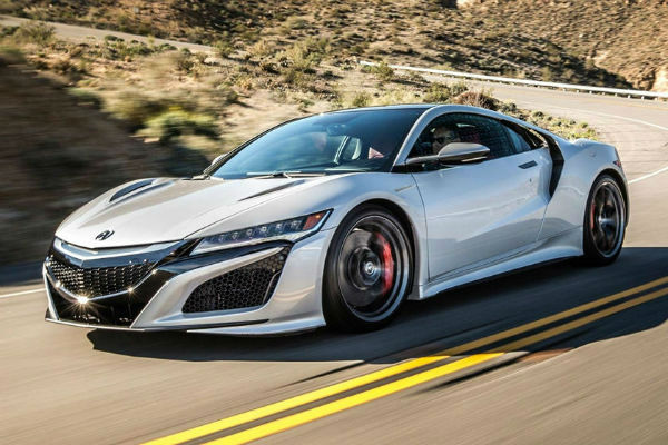 2021 Acura NSX Roadster