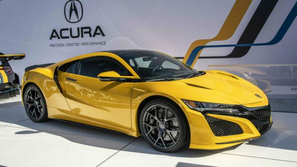 2021 Acura NSX Spider