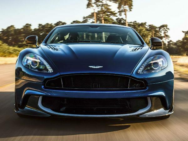 2021 Aston Martin Vanquish Facelift