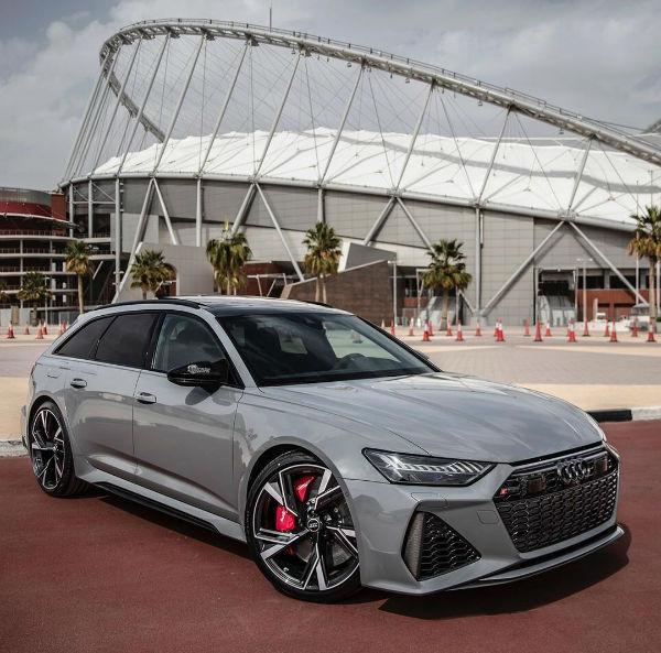 2021 Audi RS6 Avant Daytona Grey