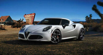 Alfa Romeo 2021 4c