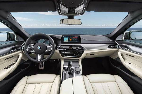 BMW 5 Series 2021 Interior